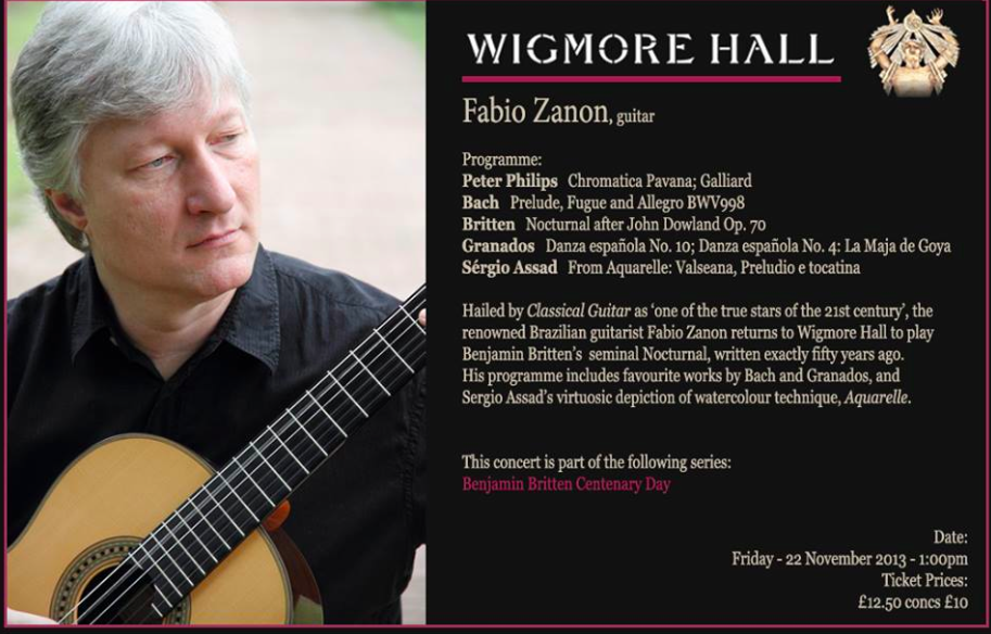 Zanon at Wigmore Hall